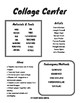 Art Center Quick Reference Sheets