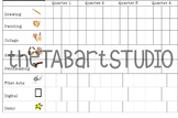 TAB Center Tracking Menu (Sketchbook Insert)