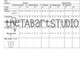 TAB Choice Art Grading Rubric (Sketchbook Insert)