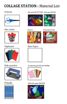 Collage Station Materials