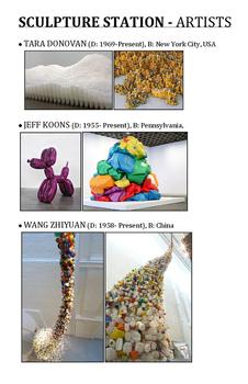 Sculpture Station Artists