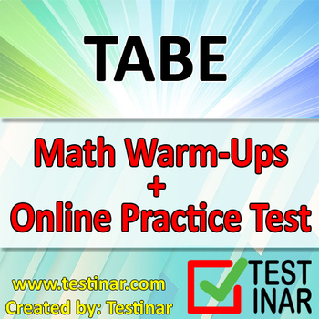 TABE Math Warmups + Online TABE Math Practice Questions