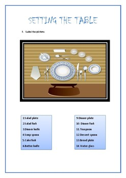 TABLE SET _Vocabulary