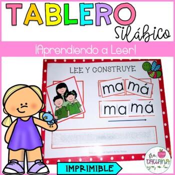 TABLERO SILÁBICO/ APRENDIENDO A LEER