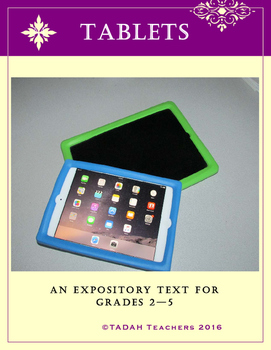 Expository Model Text for Grades 2-5: Tablets