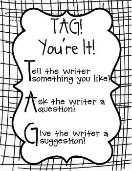 TAG Poster for Peer Editing