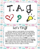 TAG - Student Feedback Poster