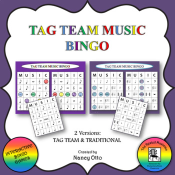 Tag Team Music Bingo