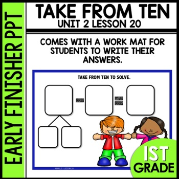 Early Finishers Activities | TAKE FROM TEN