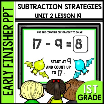 Early Finishers Activities | TAKE FROM TEN OR COUNTING ON