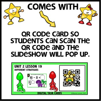 TAKE FROM TEN OR COUNTING UP STRATEGY DIGITAL/PRINTABLE TASK CARDS