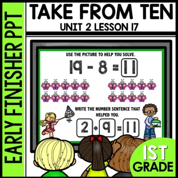 Early Finishers Activities | TAKE FROM TEN STRATEGY [8 & 9]