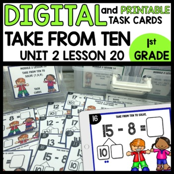 TAKE FROM TEN STRATEGY DIGITAL/PRINTABLE TASK CARDS