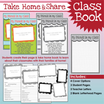 TAKE HOME & SHARE {Class Book}