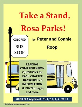 TAKE a STAND, ROSA PARKS - Reading Comprehension Questions
