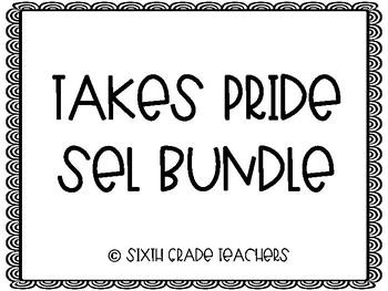 TAKES PRIDE Social Emotional Learning Bundle