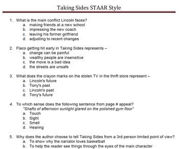 TAKING SIDES - Supplemental Resources