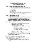 TAKS Essay Writing 4-Step Plan
