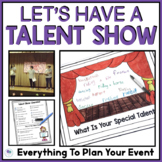 TALENT SHOW - END OF THE YEAR ACTIVITIES FOR FIRST GRADE