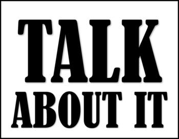 TALK ABOUT IT