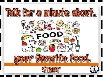 TALK FOR A MINUTE - LEVEL 1  (EFL Speaking / Conversation Practice)