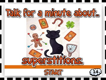 TALK FOR A MINUTE - LEVEL 2  (EFL, ESL Speaking / Conversation Practice)