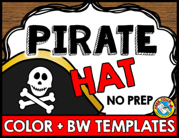 TALK LIKE A PIRATE DAY ACTIVITIES (PIRATE HAT CRAFTS) TALK LIKE A PIRATE CRAFTS