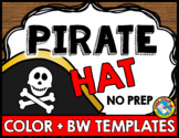 TALK LIKE A PIRATE DAY ACTIVITIES (PIRATE HAT CRAFTS) TALK