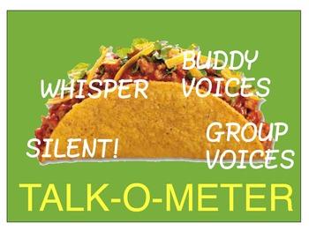 TALK-O-METER Fun Classroom Voice Management Tool