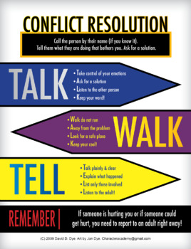 TALK-WALK-TELL Poster