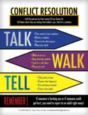 TALK-WALK-TELL Poster