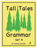 Tall Tales Grammar Review: Set A (Distance Learning)
