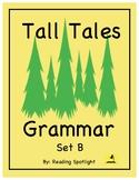 Tall Tales Grammar Review: Set B (Distance Learning)