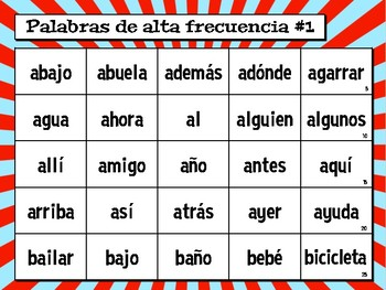 TALLER DE FLUIDEZ (Fluency Workstation) - in Spanish!