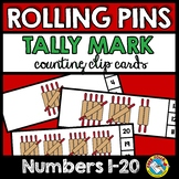 TALLY MARKS CHRISTMAS ACTIVITY KINDERGARTEN (GINGERBREAD M