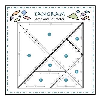 TANGRAM AREA & PERIMETER