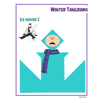 TANGRAM PUZZLES for WINTER Math Center Problem Solving Critical Thinking