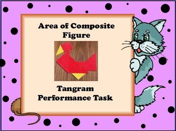 TANGRAM TASK - Calculating Area of Composite Figures