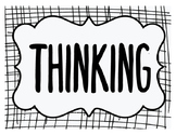TAP Rubric Thinking and Problem Solving Posters for the Classroom