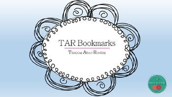 TAR Bookmark: Thinking About Reading