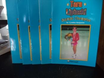 TARA LIPINSKI OLYMPIC CHAMPION      (SET OF 5)