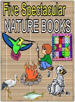 TARANTULA IN MY PURSE plus 5 Amazing Nature Picture Books
