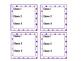 TARGET Desk Labels - Polka Dots! (For 3 Classes)