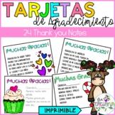 TARJETAS DE AGRADECIMIENTO/ THANK YOU NOTES
