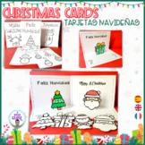 TARJETAS DE NAVIDAD- CHRISTMAS CARDS- POP-UP CARD. English