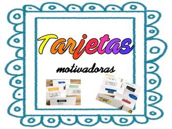 TARJETAS MOTIVADORAS