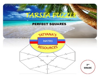 TARSIA PUZZLE - Perfect Squares