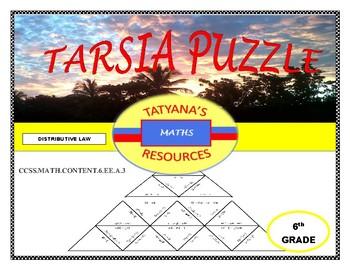 TARSIA PUZZLE - USING Distributive Law