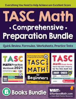 TASC Math Comprehensive Preparation Bundle