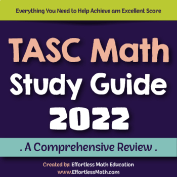 TASC Math Study Guide 2020: A Comprehensive Review